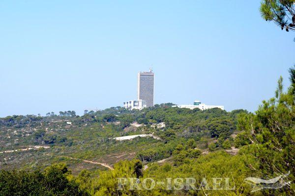 Библейская гора Кармель на северо-западе Израиля