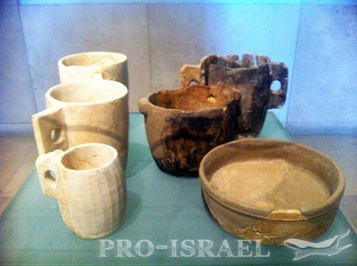 Каменная посуда в древней Иудее