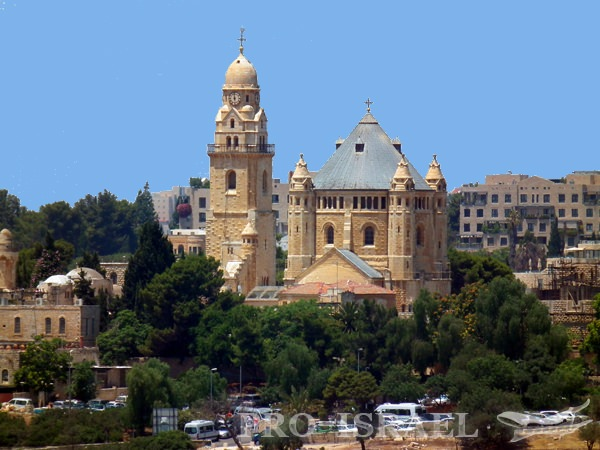 Аббатство Дормицион и Иерусалиме