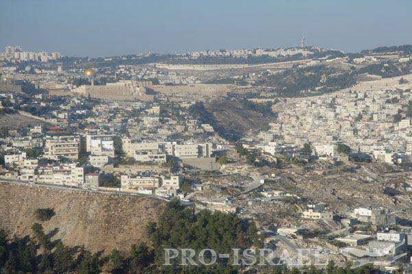 Город Иерусалим – «…город золотой…под небом голубым…»