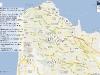 Карта-схема ресторанов Хайфы
