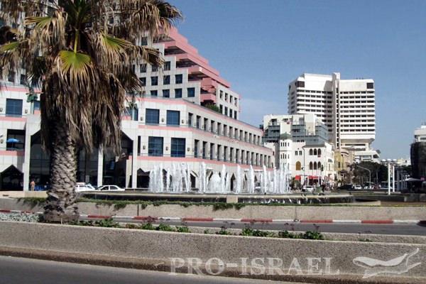 Набережная Тель-Авива, Израиль