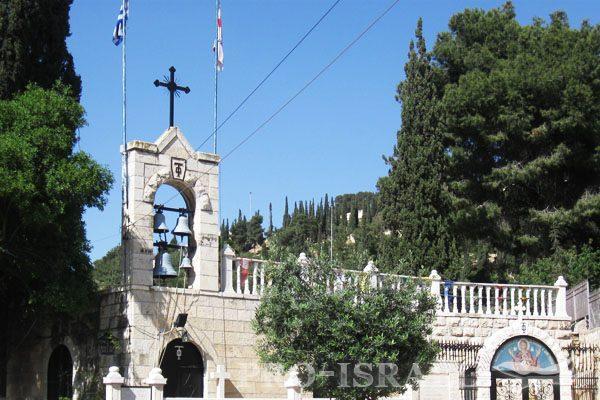 Паломничество в Иерусалим по святым местам, Израиль