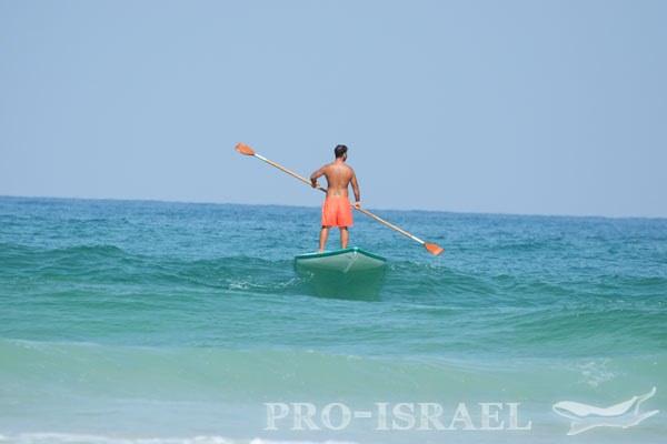 Спасатель в море, Бат-Ям, Израиль