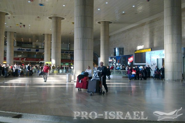 Международный аэропорт имени Давида Бен-Гуриона, Израиль