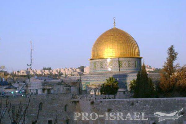 Мечеть Куббат ас-Сахра или мечеть Купол Скалы в Иерусалиме, Израиль
