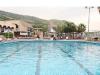 Открытый бассейн с минеральной водой