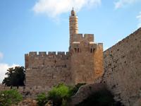Турецкая крепость и минарет