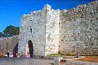 Цветочные ворота, или «ворота Ирода»
