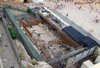 Раскопки римской улицы
