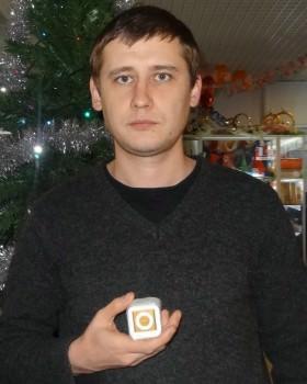 Зарубин Александр с новеньким Ipod Shuffle от Pro-Israel.ru