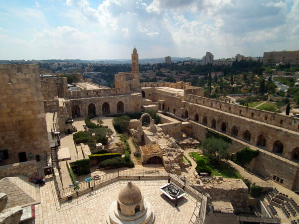 Цитадель Давида - достопримечательности Иерусалима
