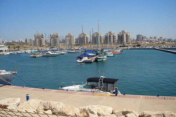 Пристань города Ашдод